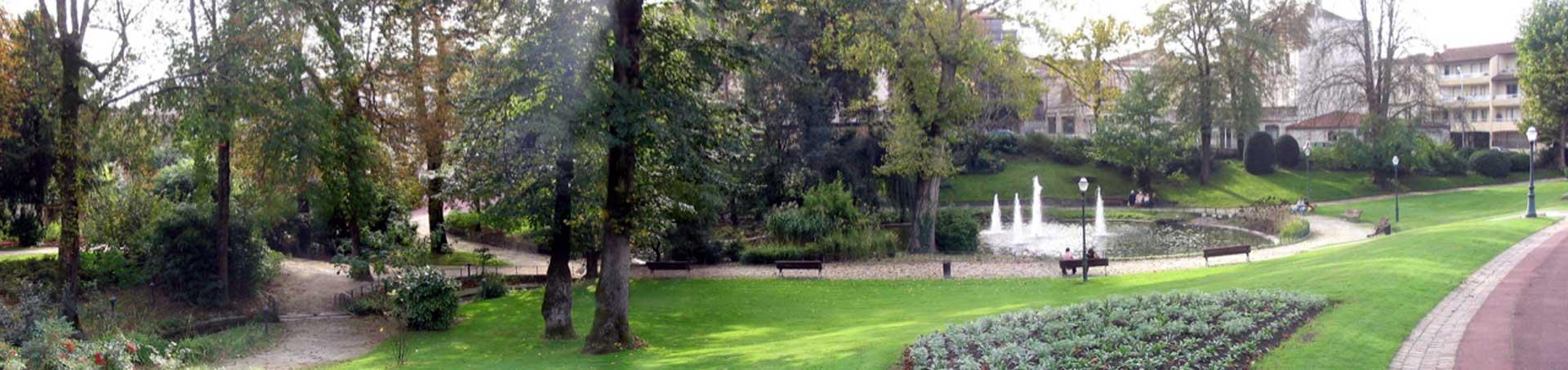 découvrir les jardins public cognac